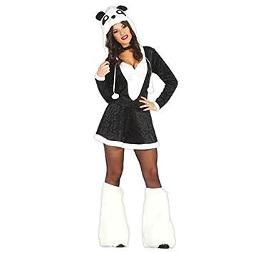 Disfraz de oso panda adulta talla XS-S (36-38): Amazon.es ...