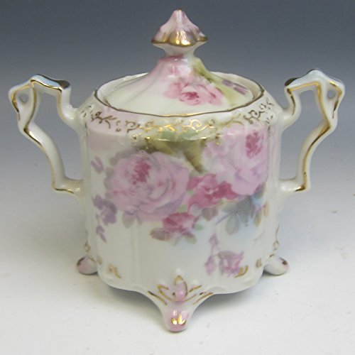 Royal Crown China CHANTILLY ROSE Sugar Bowl w/Lid ()