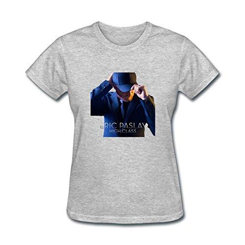 Womens Eric Paslay High Class T Shirts 100% Cotton (High Class Marken)