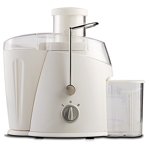 Brentwood JC-452W Juice Extractor, 350ml, White