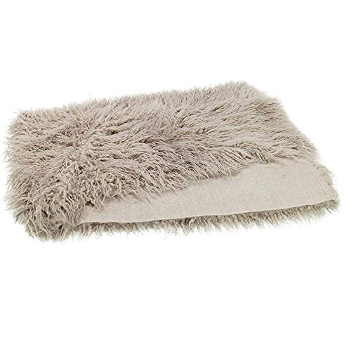 Baby Newborn Photography Props 29.5x19.7inch Photo Faux Fur Quilt Blanket Backdrop Grey Sand