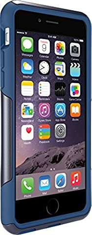 OtterBox COMMUTER SERIES Case for iPhone 6/6s - Frustration Free Packaging - INK BLUE (ADMIRAL BLUE/DEEP WATER (Apple Iphone 6 Case Otterbox Slim)