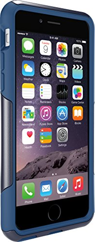 OtterBox COMMUTER SERIES Case for iPhone 6/6s – Frustration Free Packaging – INK BLUE (ADMIRAL BLUE/DEEP WATER BLUE)