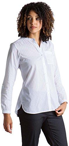 ExOfficio Women's Lencia Relaxed Fit Long-Sleeve Shirt, White, -