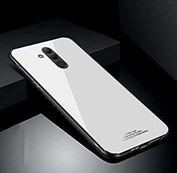 Funda® Duro Cáscara Huawei Mate 20 Lite (Blanco): Amazon.es ...