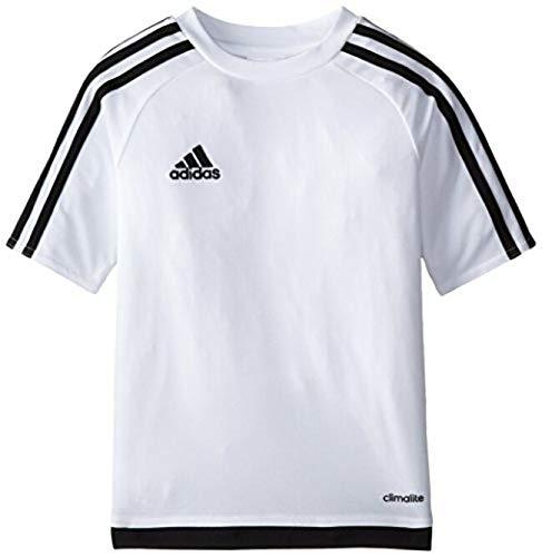 adidas Estro 15 Jersey (Little Big Kids), White/Black, Large ()