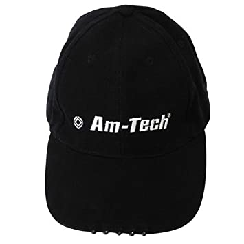 baseball caps with built in flashlights black cap hat lights led brim camera