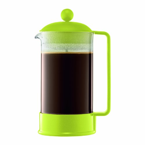 Bodum Brazil French Press Coffee Maker, Lime Green, 8 cup?