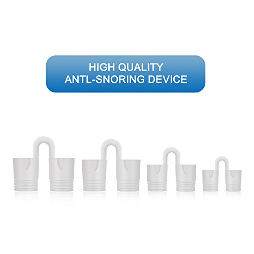 Anti Snoring Solution Nose Vents - Instand Relief Snore Device - Natural Aids Ease Breath Snore Relief - Set of 4 with Travel Case by Ucradle (Image #2)
