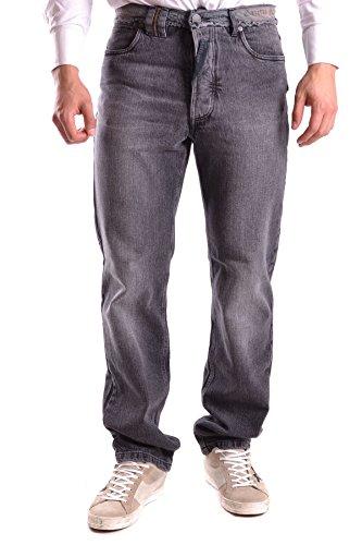 Galliano Homme MCBI130095O Gris Coton Jeans
