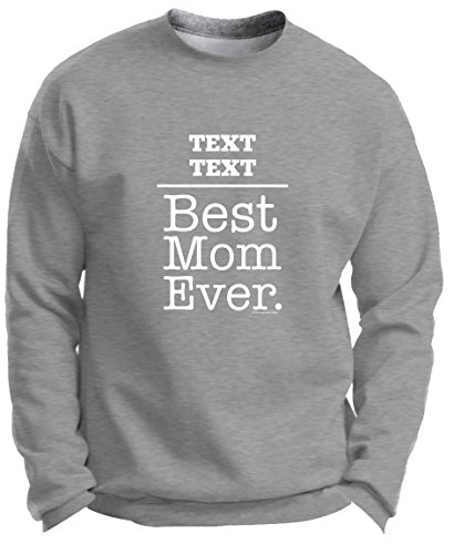 Personalized Gifts Gifts Mom Mom Gifts Mom Best Mom Ever Premium Crewneck Sweatshirt Small LtStl