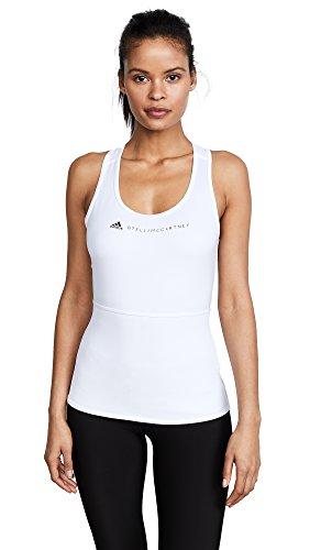 adidas Stella McCartney Women's Performance Essentials Tank, White, Small