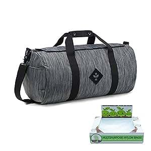 revelry suministro rayas negro la Avce Asiento de coche bolsa de gimnasia pequeña (olor absorbente y resistente al agua) + Buddy bolsas Co Turquía bolsas, 10unidades