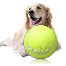 Stebcece Giant Tennis Ball 24 CM Pet TOY Signature MEGA JUMBO Big Tennis Ball