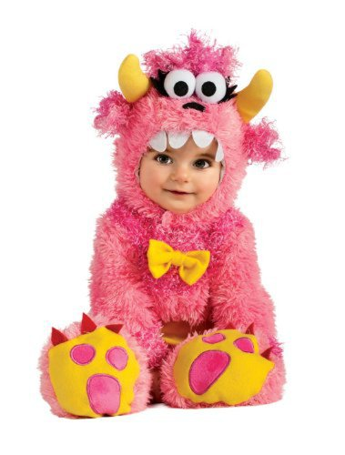 Noah's Ark Pinky Winky Monster Romper Costume WB (6-12 months with Bracelet for Mom) - Pinky Winky Costume