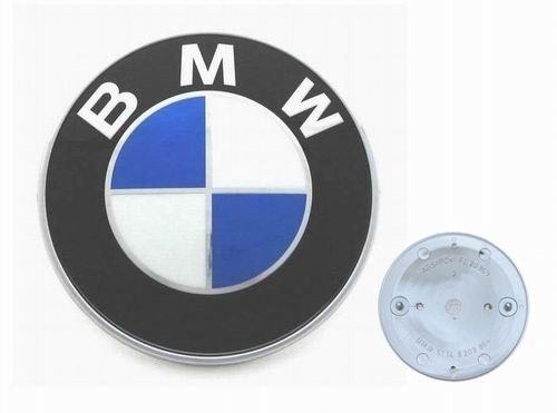 Emblem Genuine Bmw - BMW Genuine Trunk Roundel Emblem for E39 5 Series 1996-2003