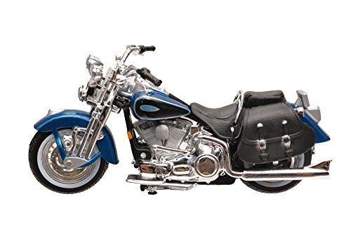 1/24 Maisto Harley Davidson 2001 FLSTS Heritage Springer Harley Davidson die-cast motorcycle model [parallel import goods] - Heritage Springer Diecast Motorcycle