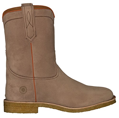 Ranch Road Boots Menns Crockett County Semsket Roper Cowboy Boot Med Crepe Såle