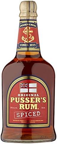Ron original de pusser Spiced 700 ml (Pack de 70 cl): Amazon ...