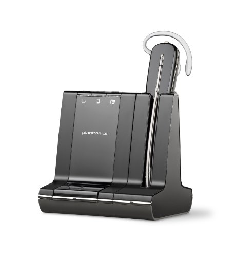 Plantronics Savi 740 Wireless Headset System for Unified Communication by Plantronics