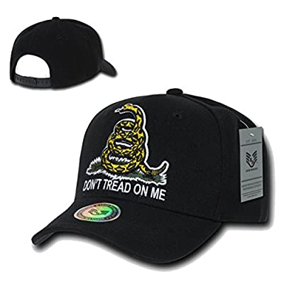 Rapiddominance Gadsden Flag Relaxed Graphic Cap by Rapid Dominance