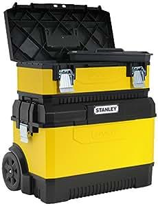 Stanley 1-95-831 - Bonus contractor metalico amarillo  caja de herramientas