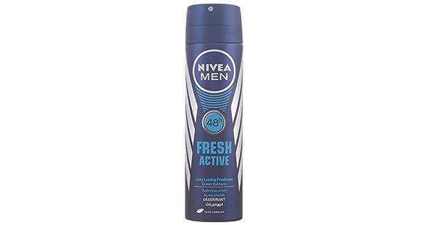 8da3eaa8e Nivea Nivea Fresh Active Deodorant Spray for Men 150ml: Amazon.ae:  SuperValueStore_uae
