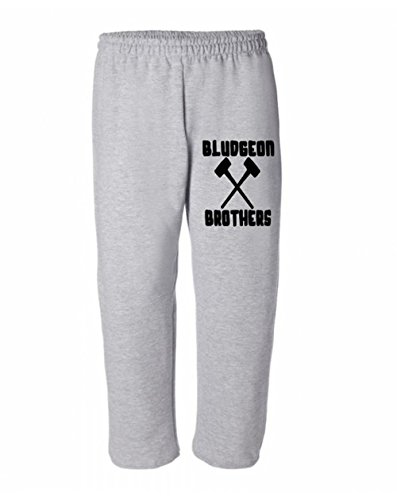 Squared Circle Bludgeon Brothers Rowan Harper WWE Kids Youth Sweatpants (Small, Grey) by Squared Circle