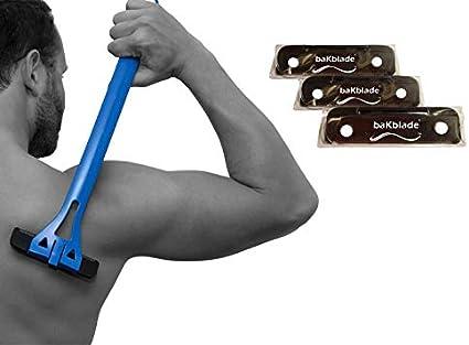 BaKblade Back Shaver - Juego de cuchillas de afeitar BAKblade ...