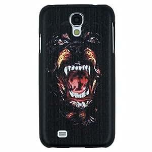 GDW perro feroz rugido patrón pc caso duro para i9500 de Samsung s4