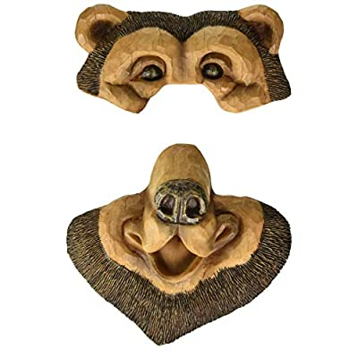 Red Carpet Studios Outdoor Faces, Black Bear: Garden & Outdoor