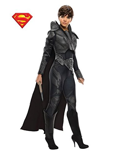[Secret Wishes Costume Superman Man Of Steel Faora, Multi-Colored, Medium] (Sexy Jumpsuit Costumes)