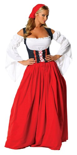Swiss Miss Adult Costume - X-Large -