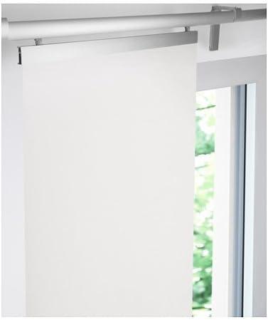 Ikea Nattskatta Schiebegardine In Weiss 60x300cm Amazon De Kuche Haushalt