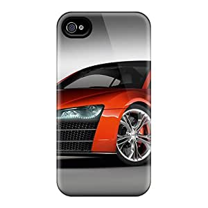 4/4s Scratch-proof Protection Case Cover For Iphone/ Hot Audi Phone Case