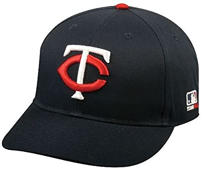 MLB Replica Adult Baseball Cap Various Team Trucker Hat Adjustable MLB Licensed , Minnesota Twins - Home by OC Sports