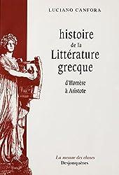 Histoire de la littérature grecque d'Homère à Aristote