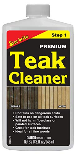 Star Brite Teak Cleaner, 32 oz (Furniture Teak Store)