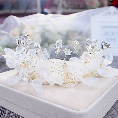 Wreaths amp;W Outdoor Pink Occasion Special 1 Wedding Alloy MJW Women's Piece Casual Rhinestone Headpiece Fpvn4q