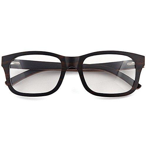 hombres de a de Wayfarer impresión de ocio hechas Gafas Original artísticas la leopardo de madera Gafas Eyewear Gafas calidad gato de Diseñador Adult sol Negro Ojos mano los del de alta marco de Gafas de zBqE44