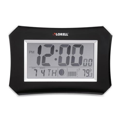 60998 Lorell LCD Wall/Alarm Clock - Digital