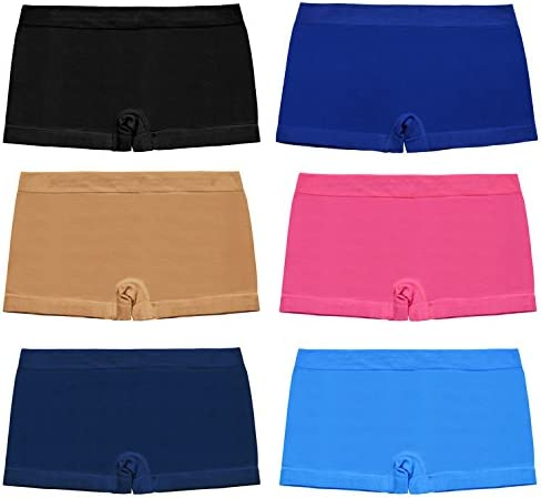 28345face55 Libella Women s Boyshort Panties Seamless Low-Rise Boy Cut Brief  Trunks
