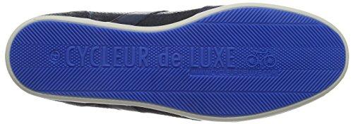Bleu Hautes Marine Toledo Bleu Homme Baskets Cycleur Luxe De T401ww