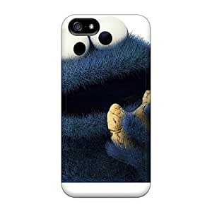 Scratch Protection Hard Cell-phone Cases For Iphone 5/5s (MDh1771naVB) Custom Stylish Cookie Monster Pictures