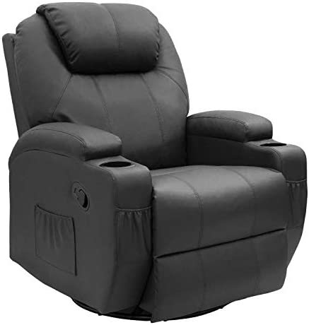 JUMMICO Recliner Chair Massage and Heating Living Room Chair