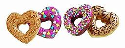 Wilton Nonstick 6-Cavity Heart Donut Pan (HEART -2 Ct.)