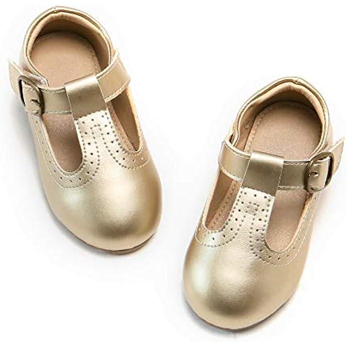 Girls Mary Jane Ballet Flat Dress Shoe (Toddler/Little Kid)