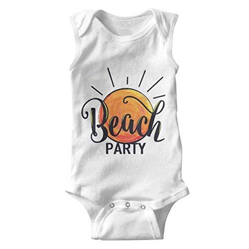 (Gustaix Zimund Beach Party Logo Unisex Baby Onesies Bodysuit)