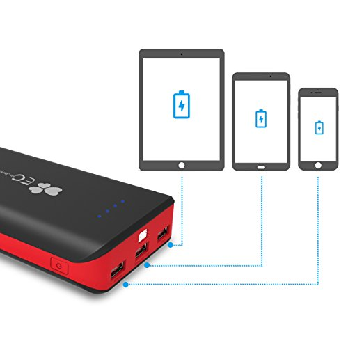 EC Technology Portable Charger 22400mAh Externa...