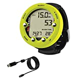 Suunto Zoop Novo Wrist Dive Computer, Lime, with USB